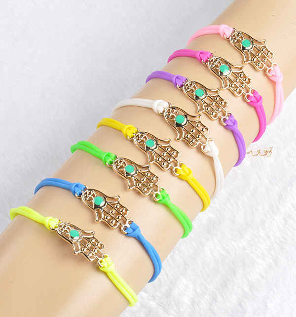 Gold Fashion Pu Plastic Fatima Hand  / Offer Value $31.90 Yours FREE!