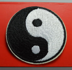 Yin Yang Iron-on Embroidered Patch  / Offer Value $31.90 Yours FREE!