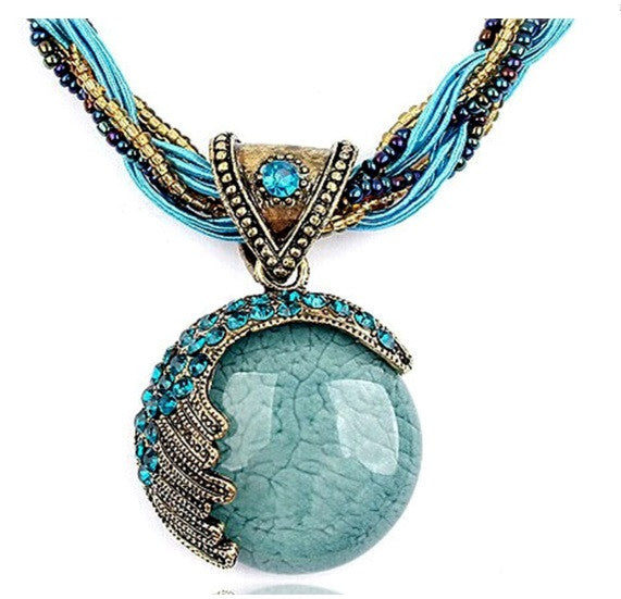 Fashion  Reiki Lucky Stone  Necklace/ Offer Value $39.95 Yours Only $1!