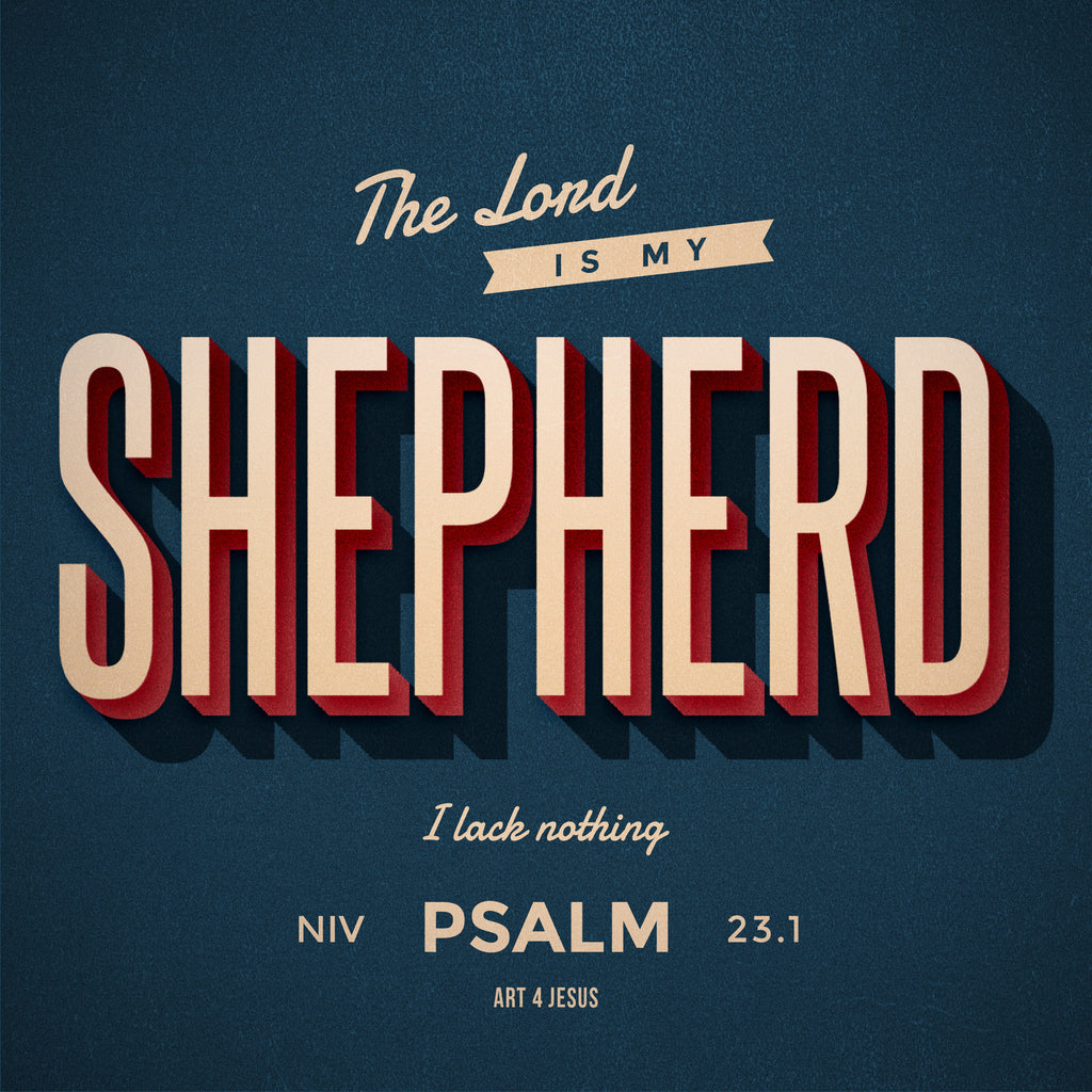 PDF - Psalm 23.1 - Art 4 Jesus