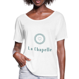 Women's Batwing-Sleeve T-Shirt | Bella + Canvas - white