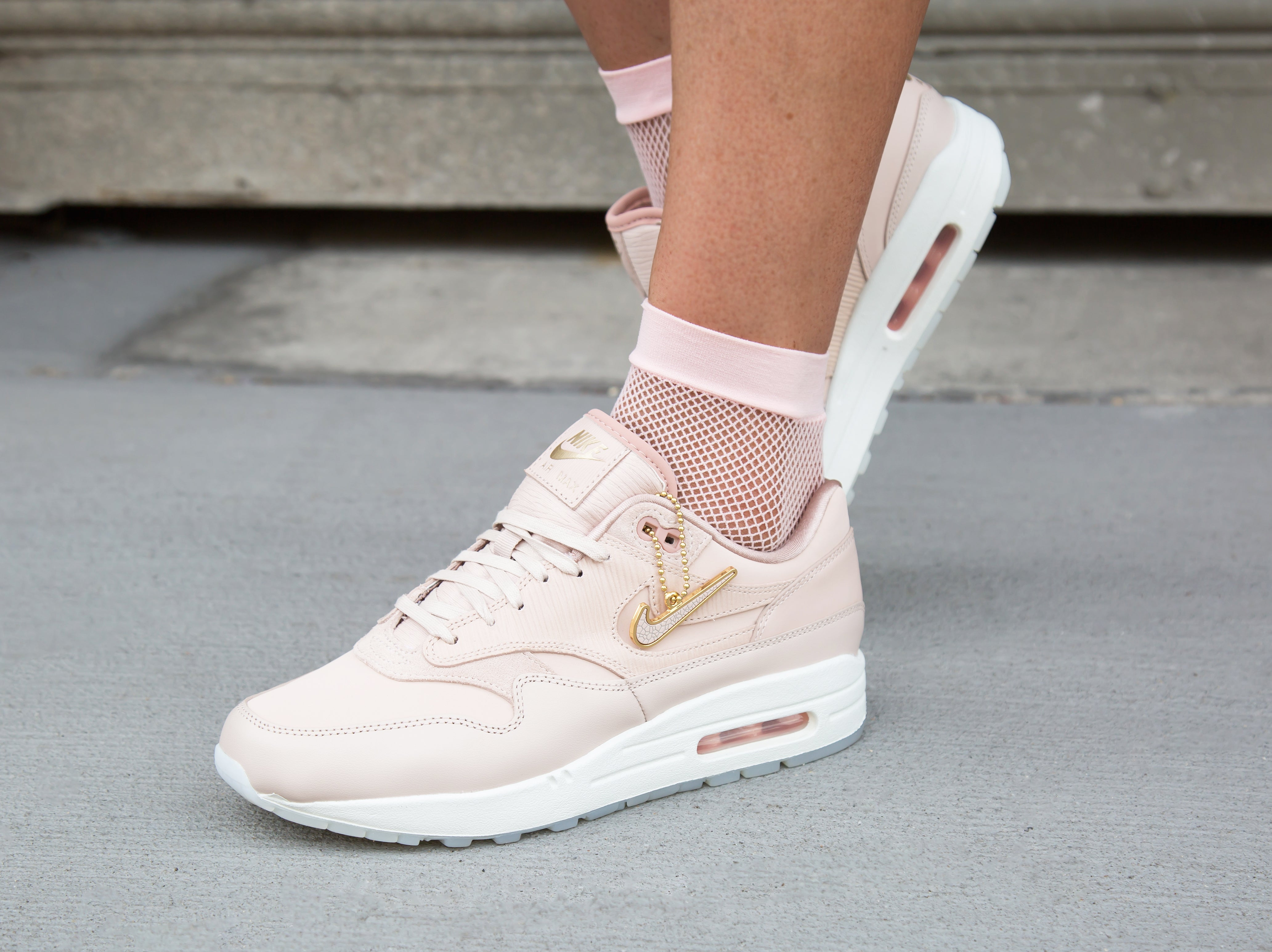 hot sale online 8149a dbeb7 SNEAKER RELEASES | Nike Air Max 1 Premium Particle Beige | January 12