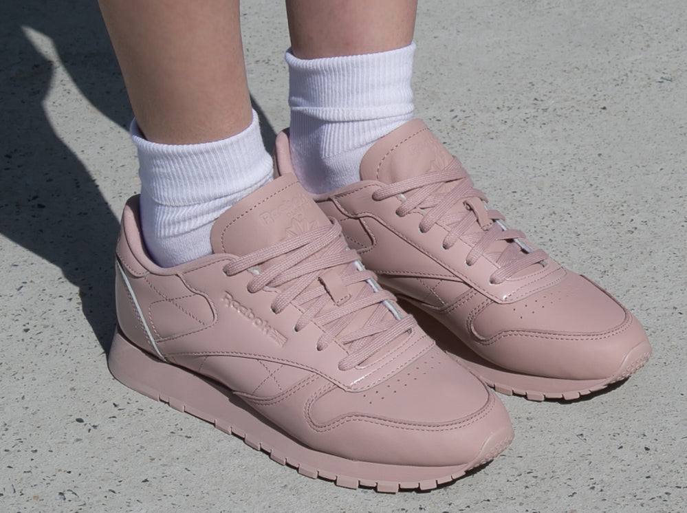 Buy reebok classic leather pink | Up to 74% Discounts