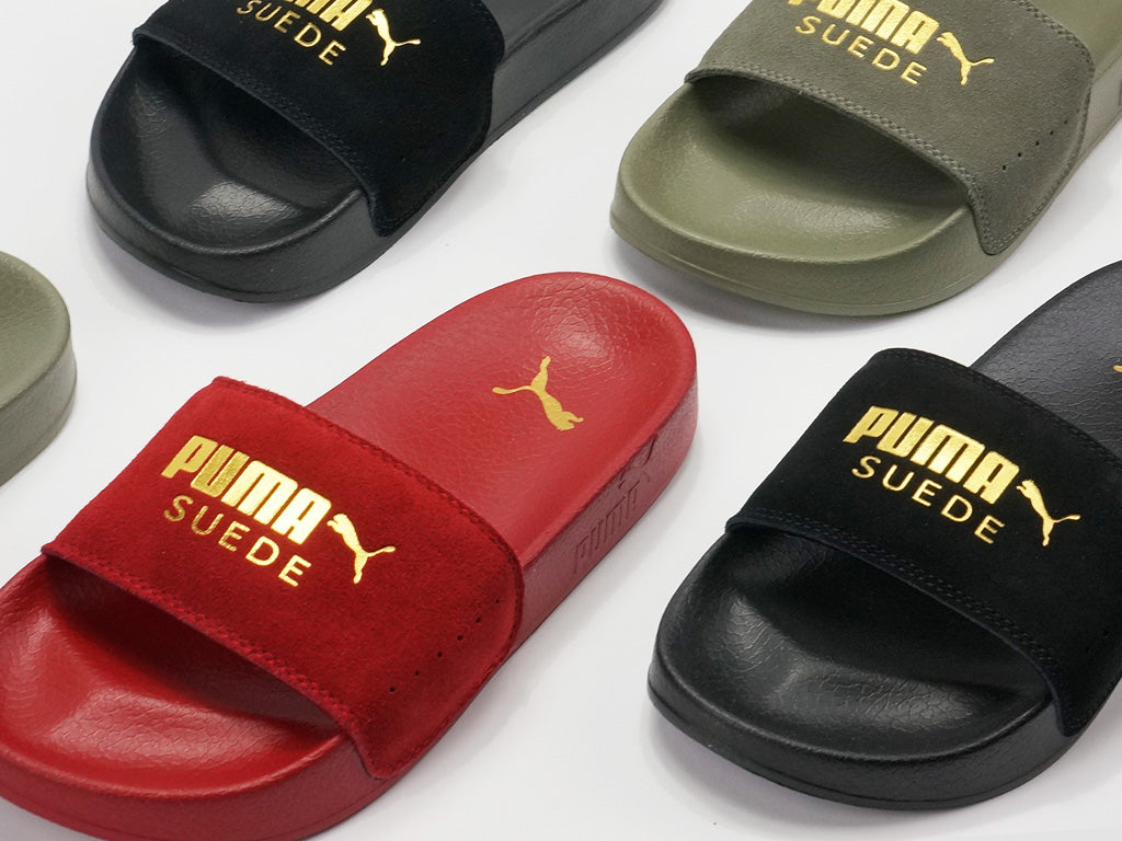 Puma Leadcat Suede Slide  b4a70cd45
