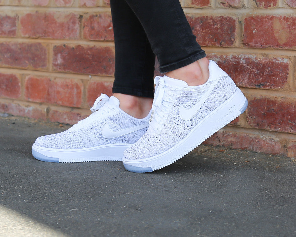 best sneakers 85abe b6be0 Nike Women's Air Force 1 Flyknit Low Launch Date | SNEAKER ...