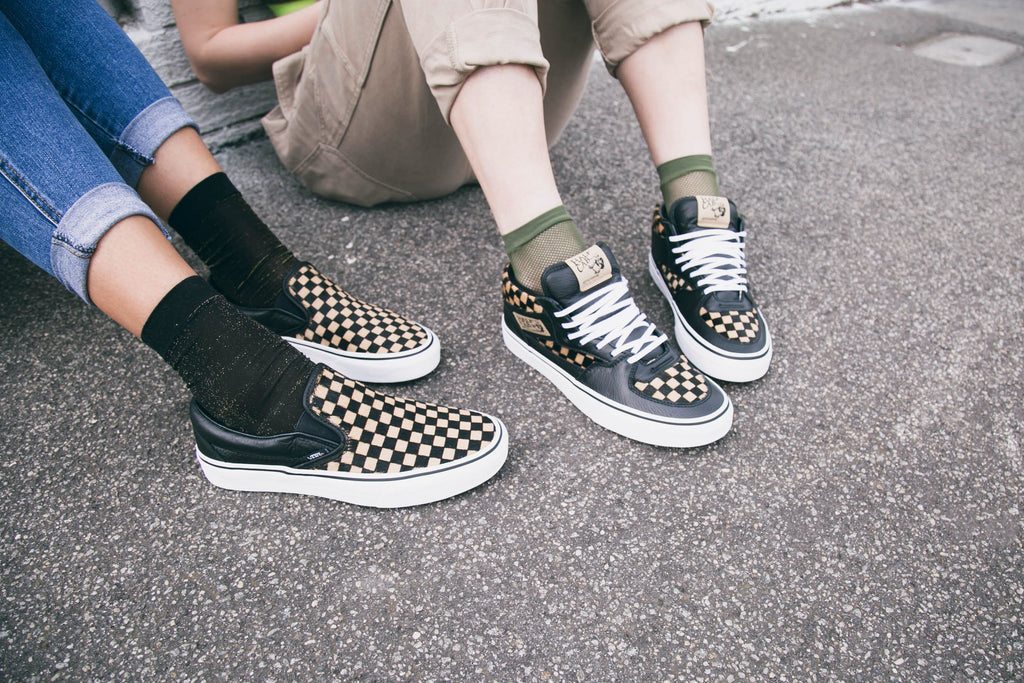 Vans Calf Hair Checkerboard Pack