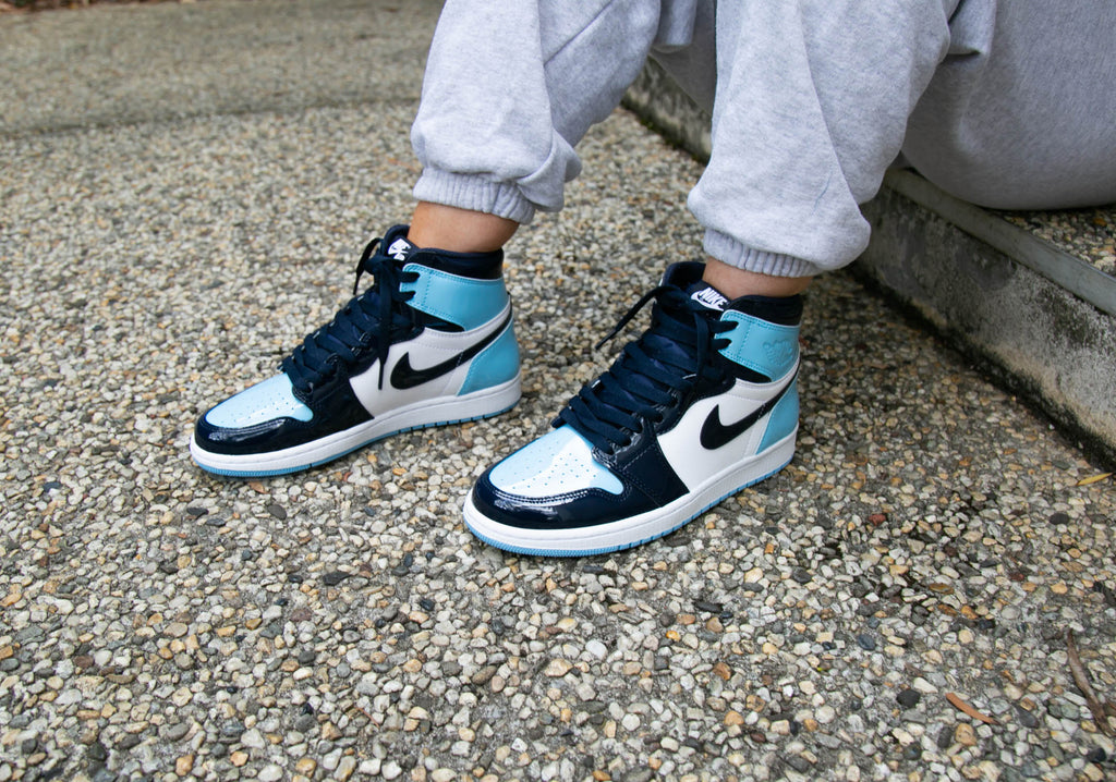 Nike Air Jordan 1 Retro High Og Unc Blue Chill February 16