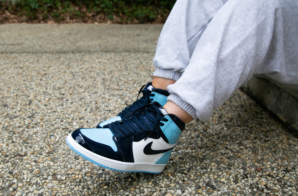b7dafdb3053 Nike Air Jordan 1 Retro High OG UNC Blue Chill | February 16 ...
