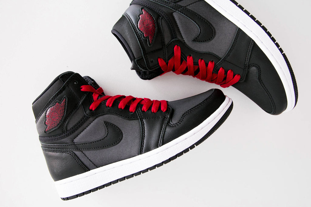 Air Jordan 1 Retro High 'Black Satin'