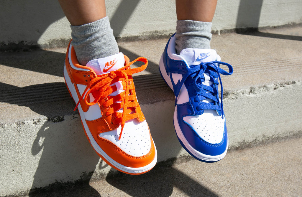 Nike Dunk Low SP 'Syracuse' & 'Kentucky'