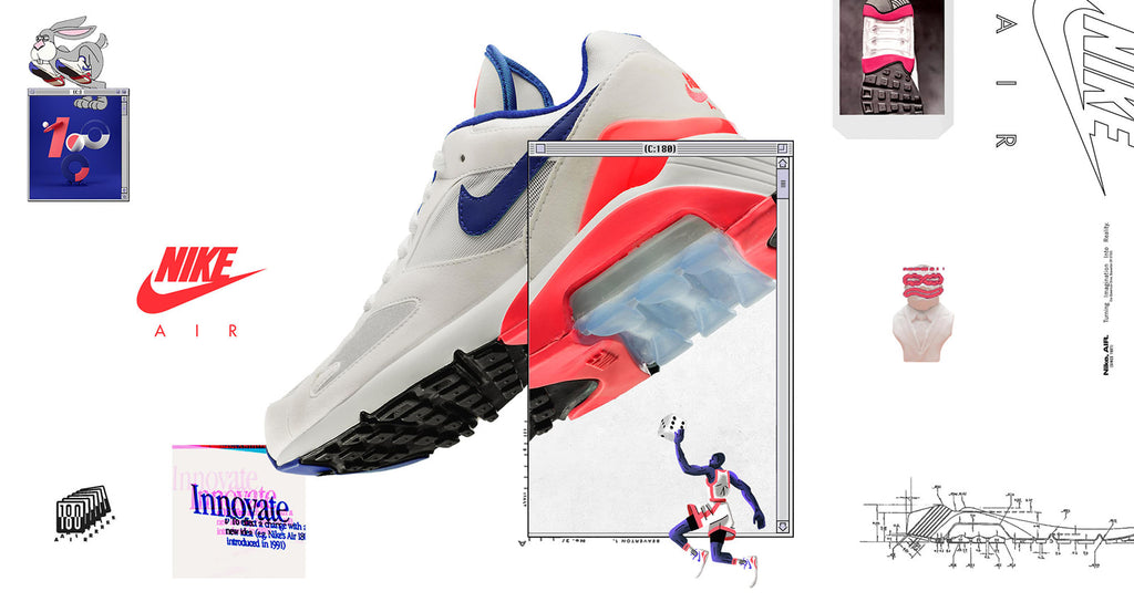 the latest e77d8 9aaaf Nike Womens Air Max 180 Ultramarine