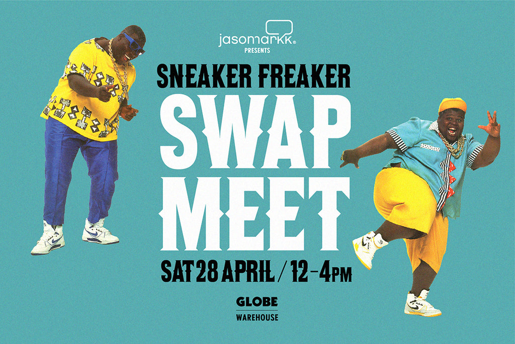 Sneaker Freaker Swap Meet 2018 Pop Up