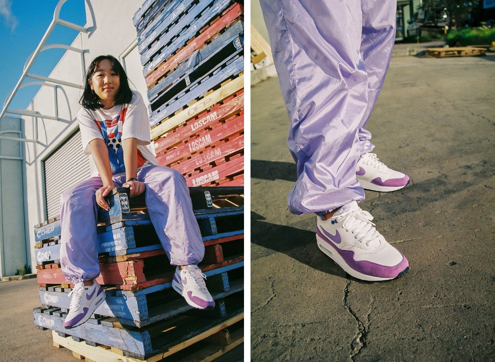 Nike Womens Air Max 1 Atomic Violet 319986-118