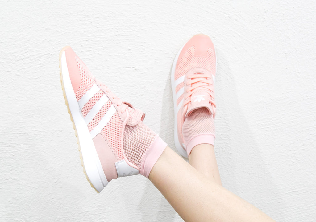 Adidas Womens Flashback Haze Coral Pink