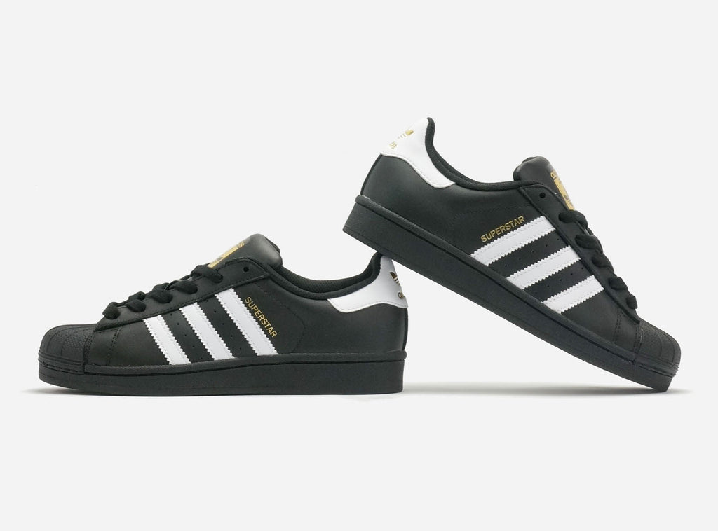 Adidas Superstar Black/White/Black