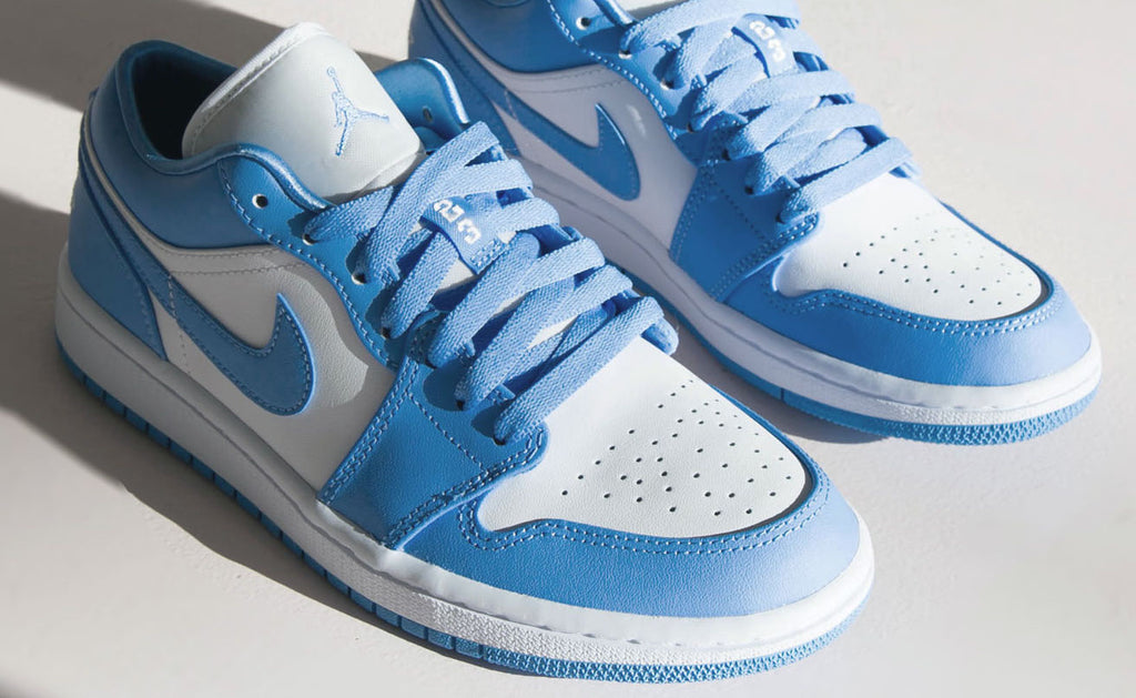 Air Jordan 1 Low Unc Womens Sneaker Releases April 25 Sole