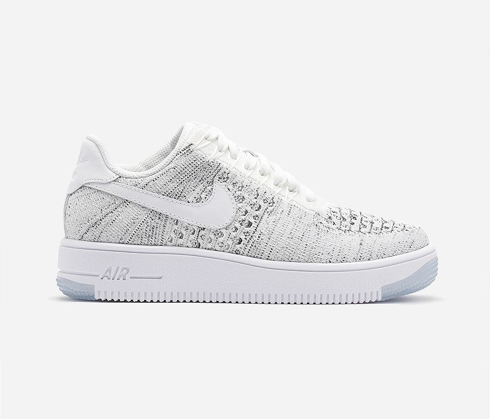 Nike Air Force 1 Flyknit Low White/Black