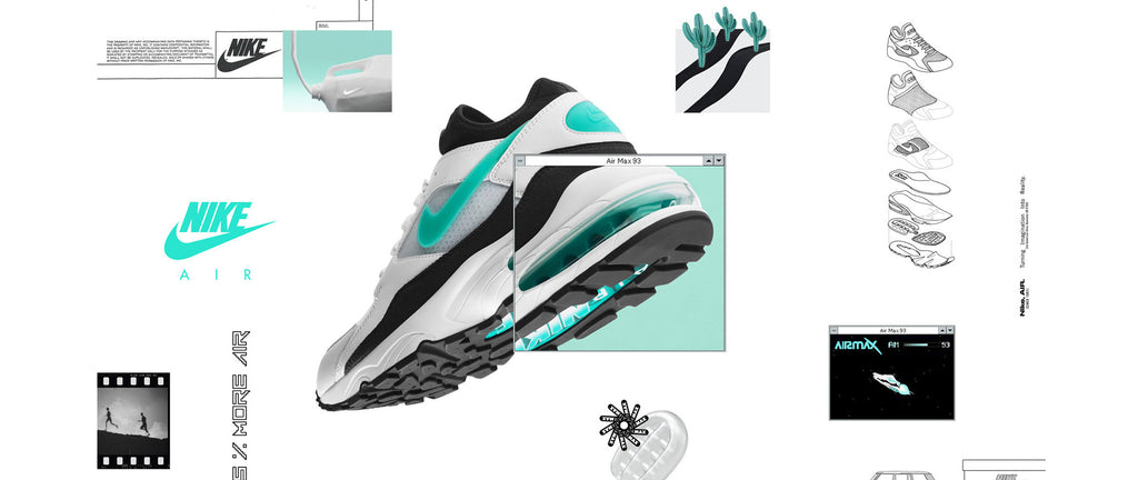 Nike Womens Air Max 93 Dusty Cactus  d4e6a4bc9b