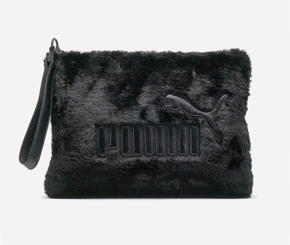 Puma Fur Pouch & Backpack