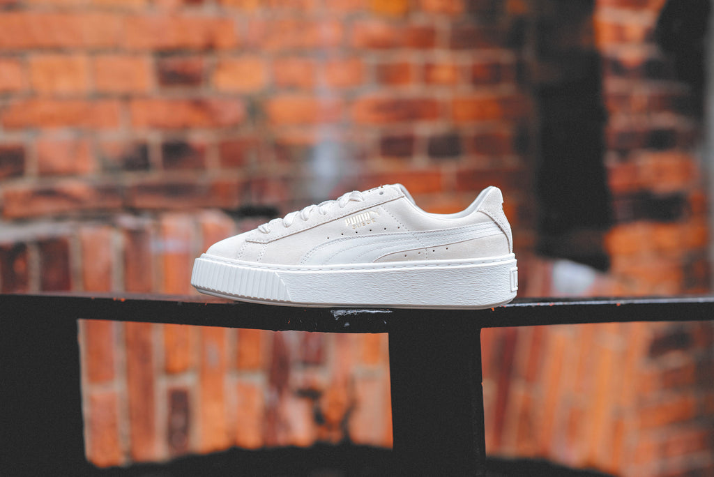 brand new ab701 ef9de Puma Suede Platform Satin Launching May 25 | SNEAKER ...