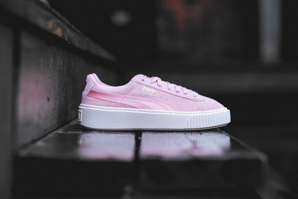 brand new af2e7 fc0db Puma Suede Platform Satin Launching May 25 | SNEAKER ...