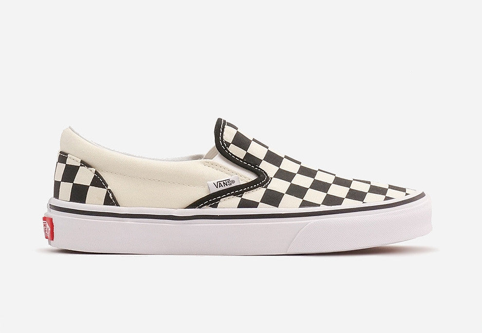 Vans Classic Slip-On Black/White Checker