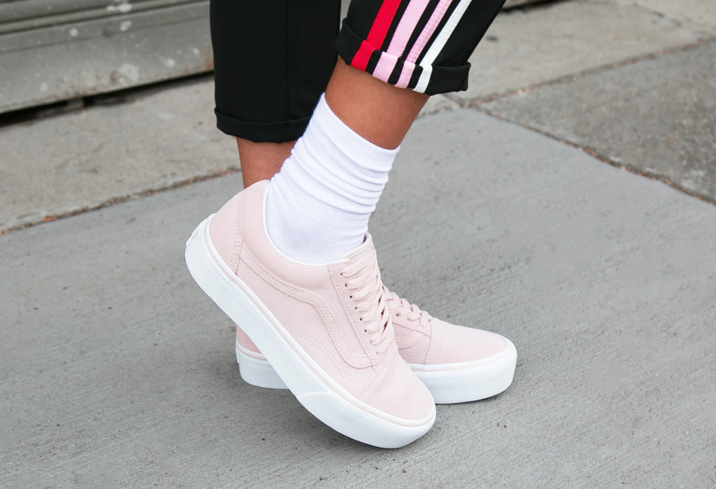 Vans Old Skool Platform Sepia Rose  99320ecd8