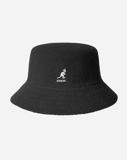 Kangol Bermuda Bucket Hat Black Womens Hat K3050ST