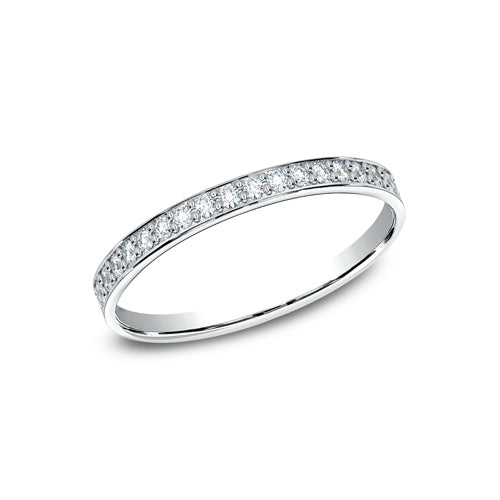 Benchmark Pave Set Diamond Wedding Band 522800HF