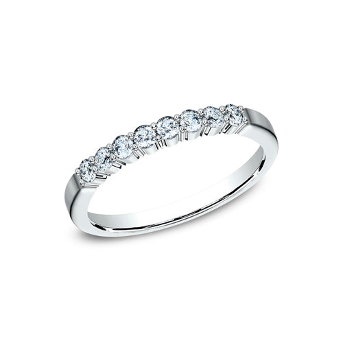 Benchmark Shared Prong Diamond Wedding Band 5525721