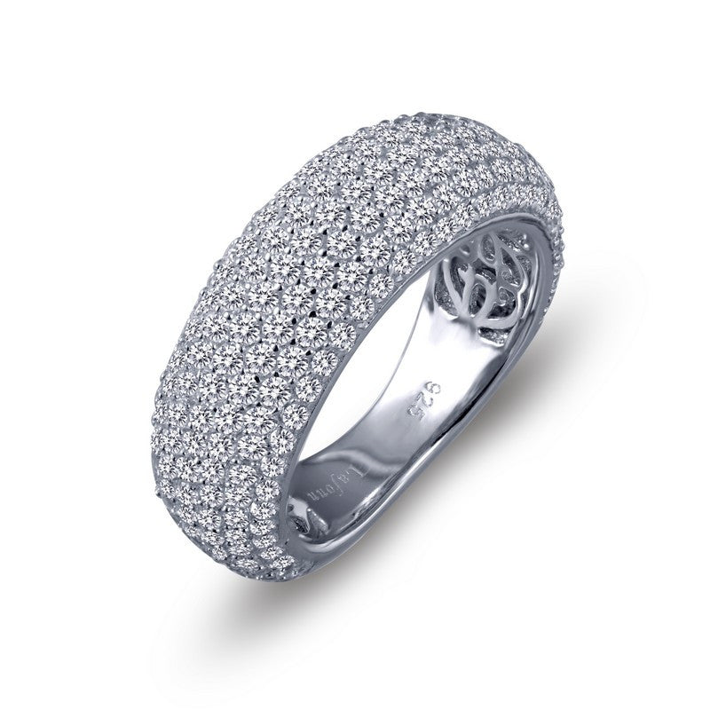 Lafonn Signature Lassaire Simulated Diamond Radiant Pave Ring 7R019CLP05