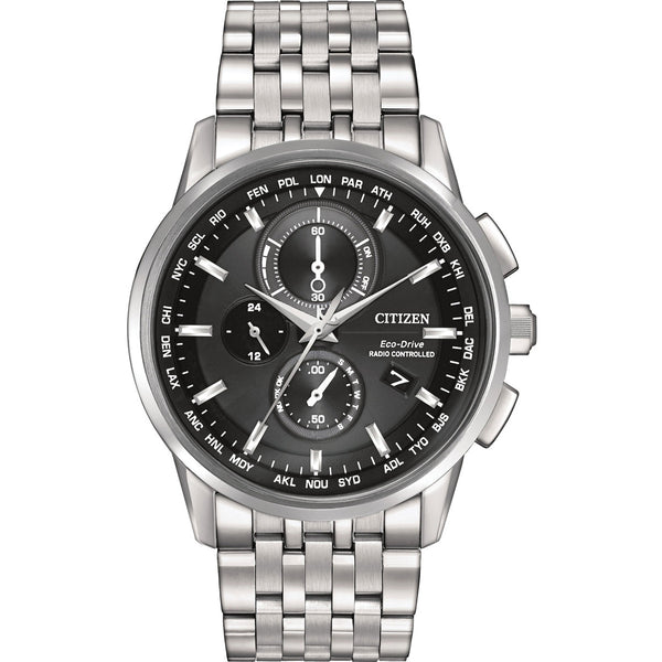 Citizen Eco-Drive World Chronograph A-T AT8110-53E