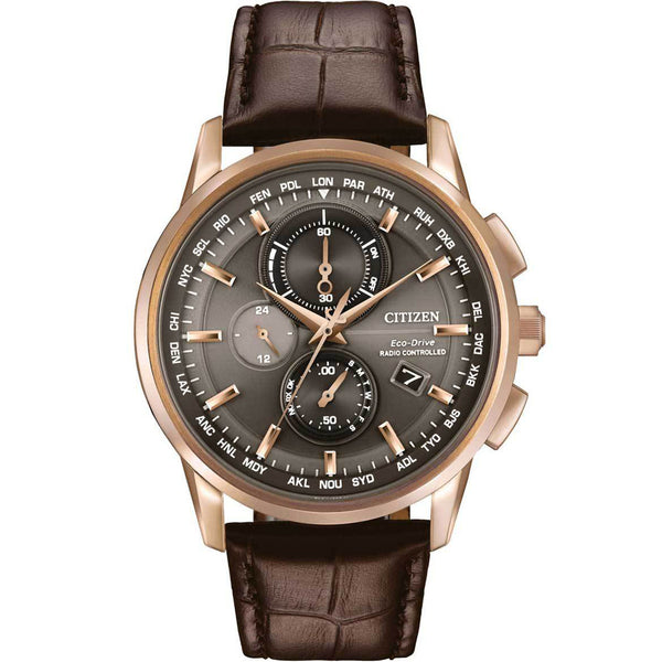 Citizen Eco-Drive World Chronograph A-T AT8113-04H