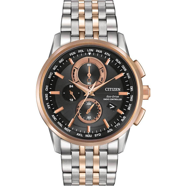 Citizen Eco-Drive World Chronograph A-T AT8116-57E