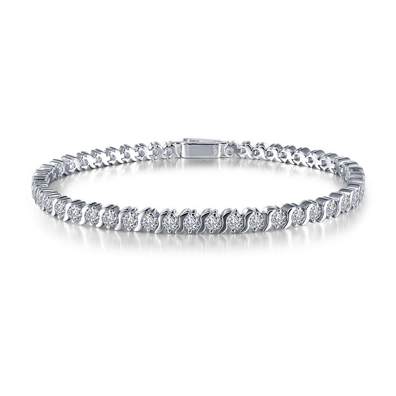Lafonn Signature Lassaire Simulated Diamond S Tennis Bracelet B0033CLP