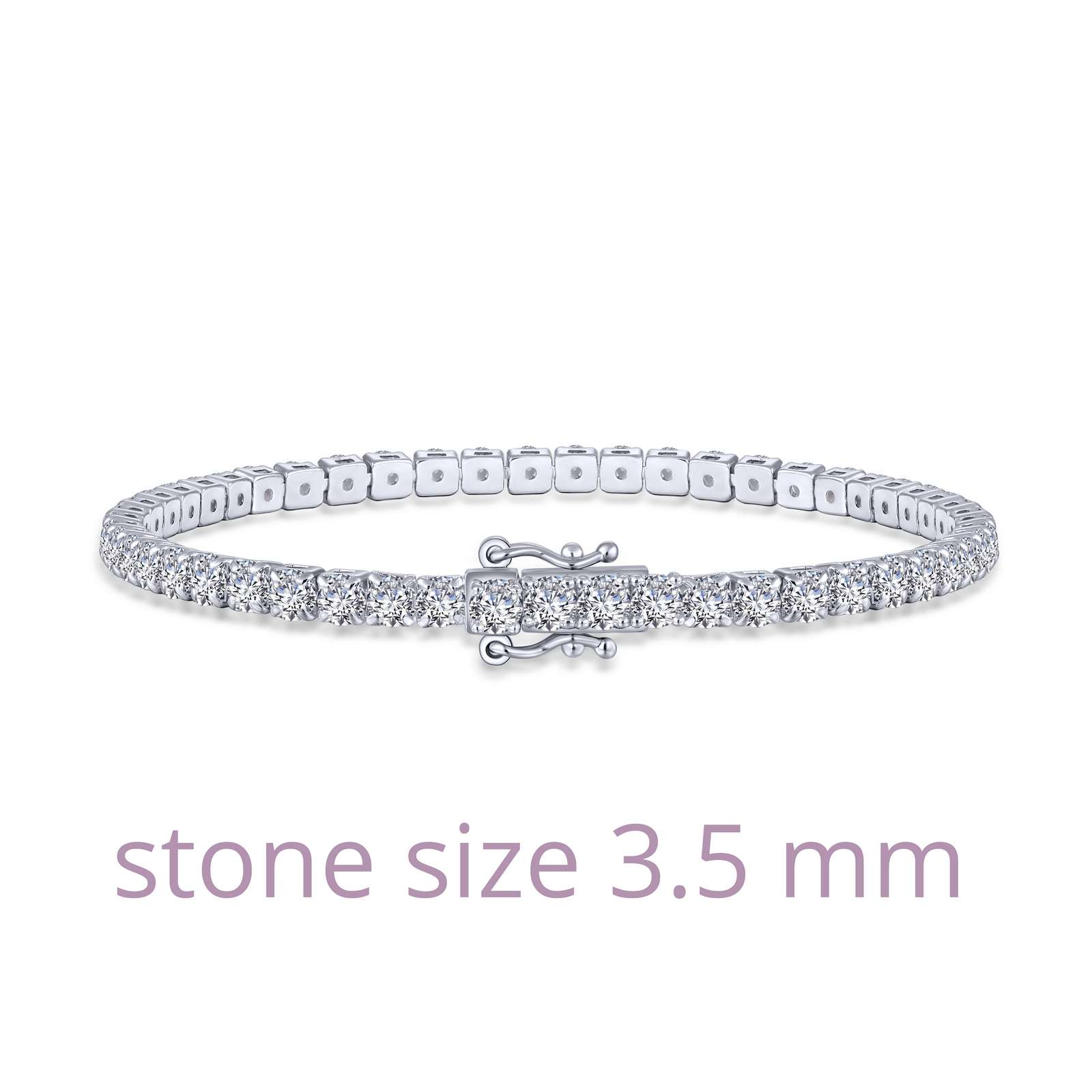 Lafonn 10th Anniversary Signature Lassaire Simulated Diamond Classic Tennis Bracelet B0148CLP