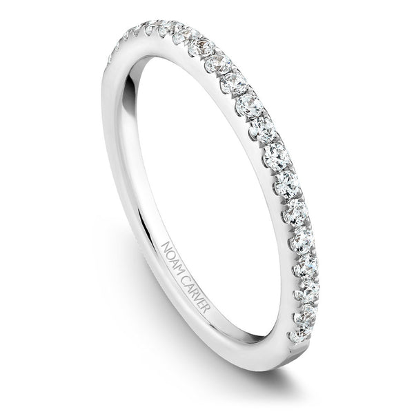 Noam Carver Prong Set Diamond Wedding Band B027-02B