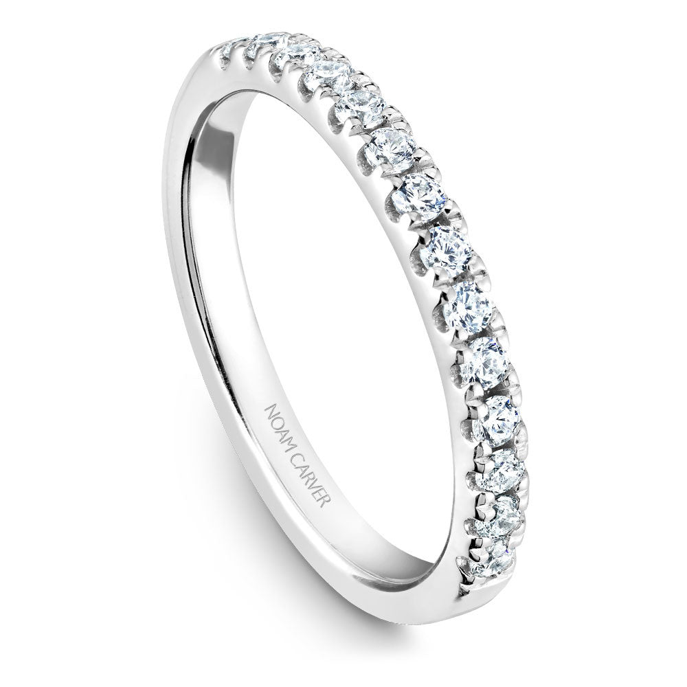 Noam Carver Diamond Wedding Band B150-01B