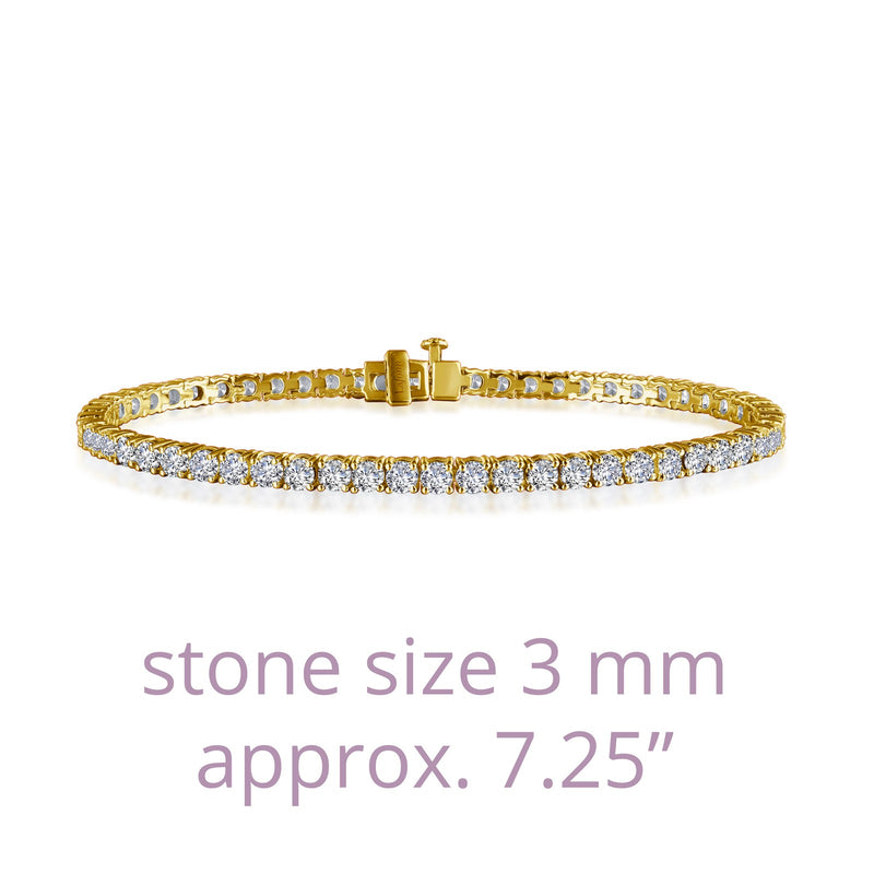 Lafonn Signature Lassaire Simulated Diamond Tennis Bracelet B2001CLG