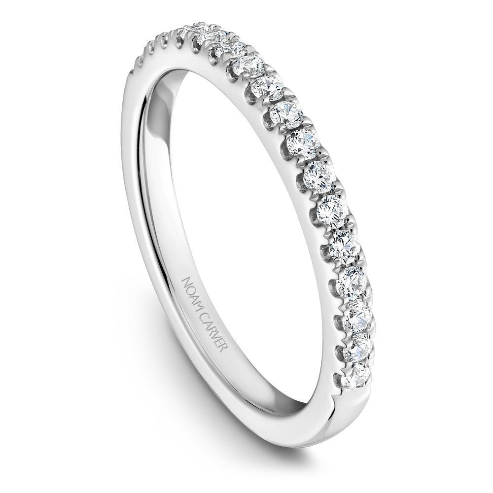 Noam Carver Prong Set Diamond Wedding Band B214-01B