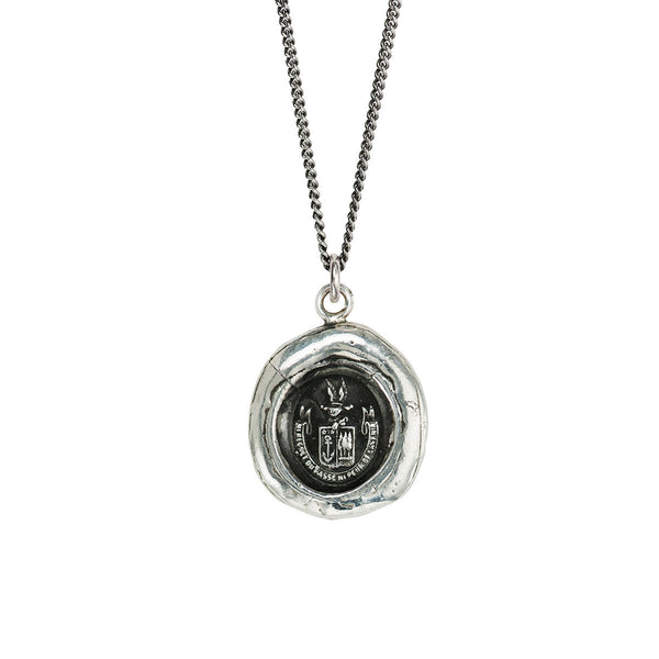 Pyrrha-Be Here Now Talisman Necklace