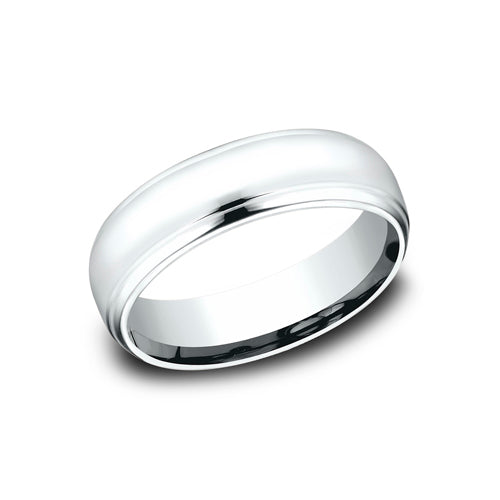 Benchmark Comfort Fit High Polished Finish Wedding Band CF716540
