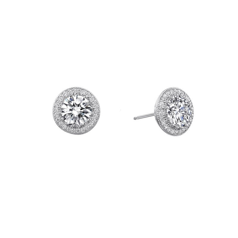 Lafonn Signature Lassaire Simulated Diamond Halo Earrings E0053CLP