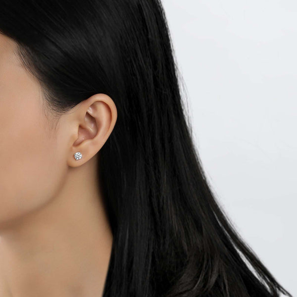 Lafonn Lassaire Simulated Diamond 1.60ct Stud Earrings E0103CLP