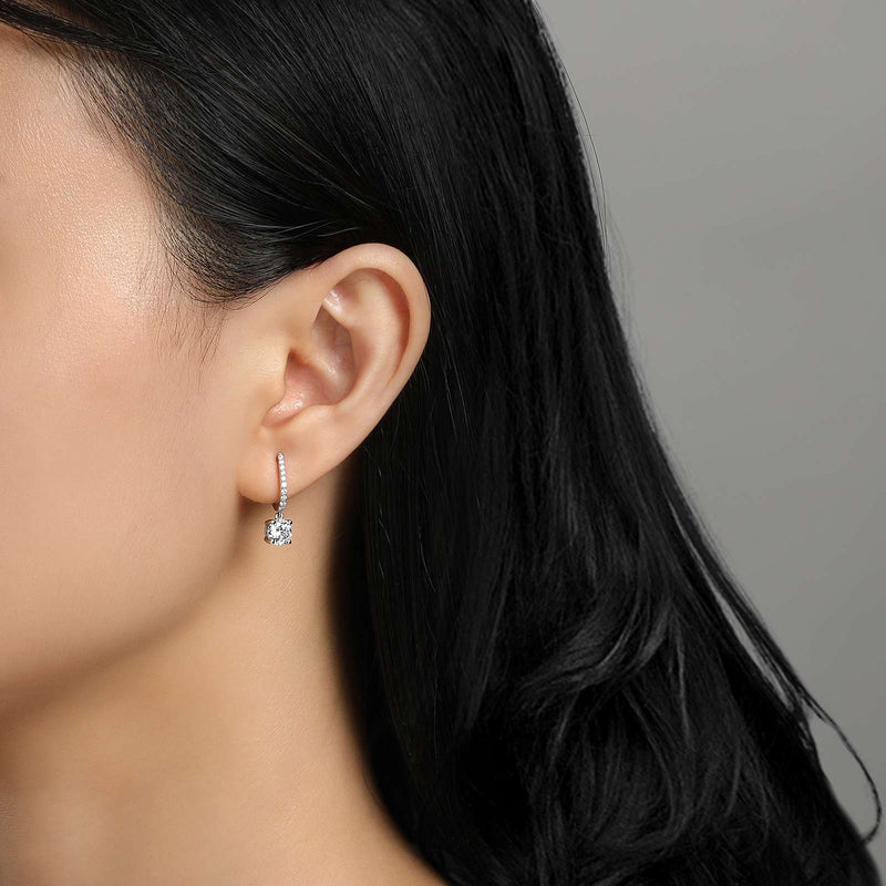 Lafonn Signature Lassaire Simulated Diamond Drop Earrings E0219CLP