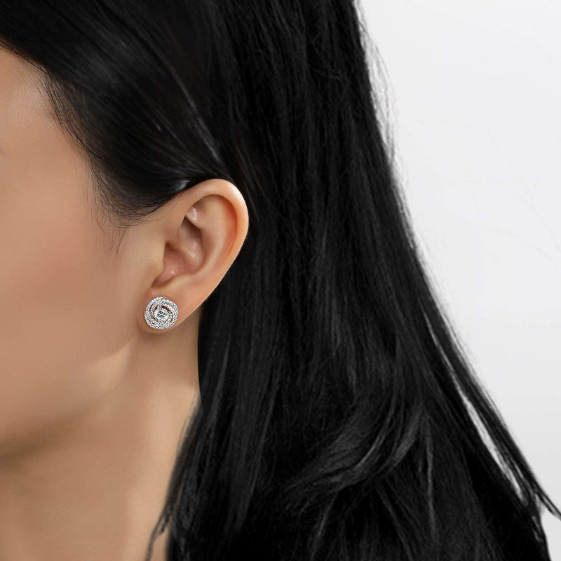 Lafonn Signature Lassaire Simulated Diamond Infinity Earrings E0254CLP