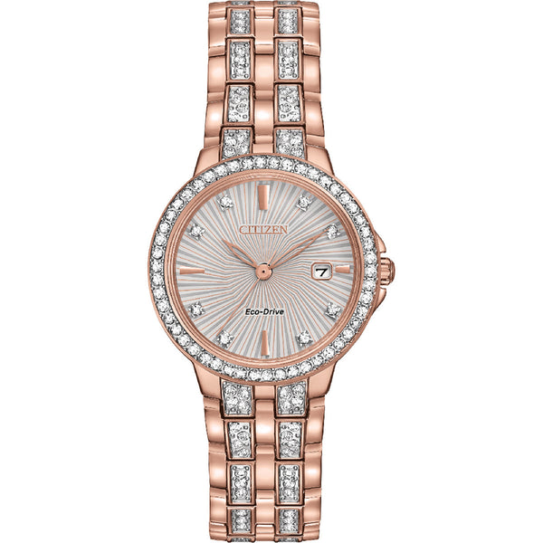 Citizen Eco-Drive Silhouette Crystal EW2348-56A