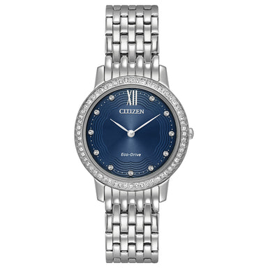 Citizen Eco-Drive Silhouette Crystal Collection EX1480-58L