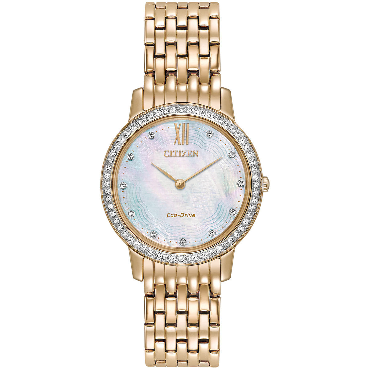 Citizen Eco-Drive Silhouette Crystal Collection EX1483-50D