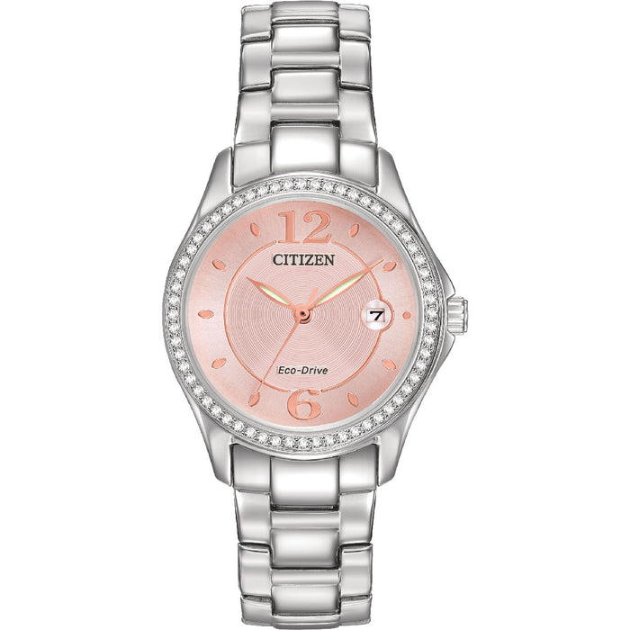 Citizen Eco-Drive Silhouette Crystal FE1140-86X